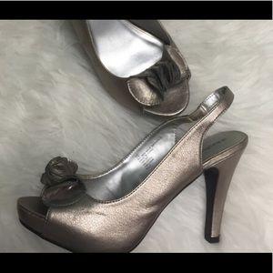 3 for $30 - Xhilaration sling-back heels.
